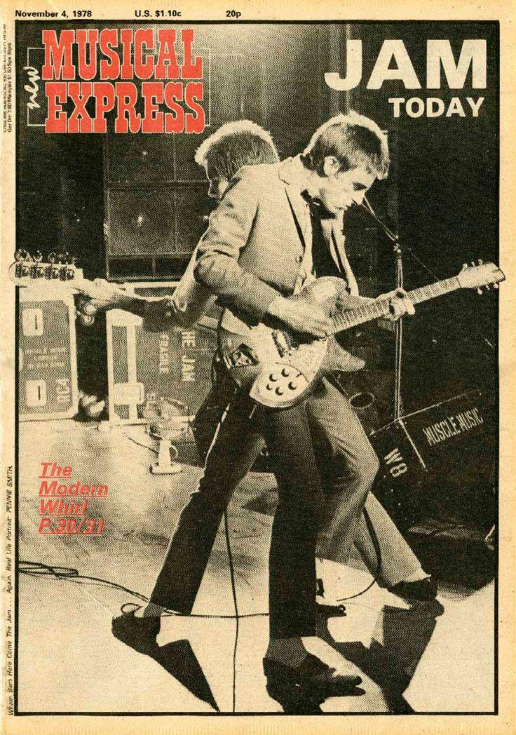 The Jam: Paul Weller, Bruce Foxton, NME, November 1978