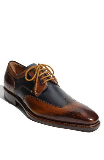 Mezlan 'Copa' Wingtip Oxford (Online Only) available at #Nordstrom