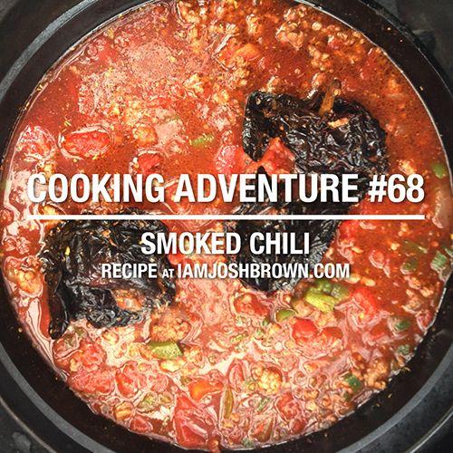 Chili on the Big Green Egg Recipe | IAmJoshBrown