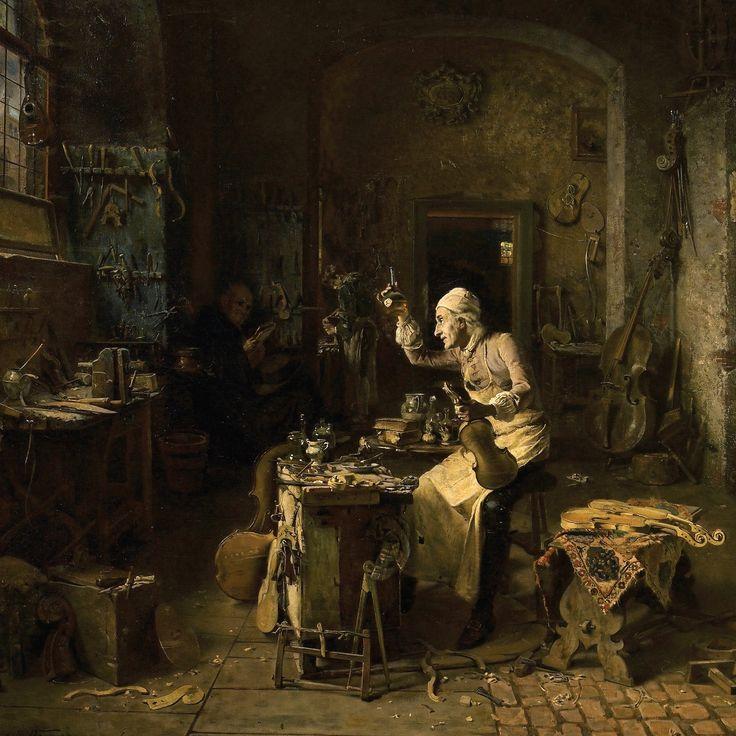 The secrets of Stradivari's workshop