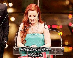 I bet if I knew Sierra Boggess, we would best friends.