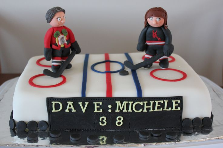 18 Best Ice Hockey Birthday Cakes Images On Pinterest Hockey
