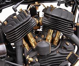 Custom 1936 WL. Extending Harley-Davidson Bloodline. at Cyril Huze Post – Custom Motorcycle News