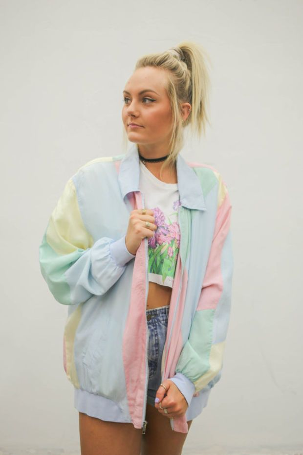 90S Windbreaker Outfit November 2017