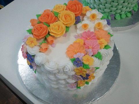 ケーキデコ(フラワー&ケーキデザイン)2回目 :: アメリカに引っ越したネイリストのつれづれ yaplog!(ヤプログ!)byGMO