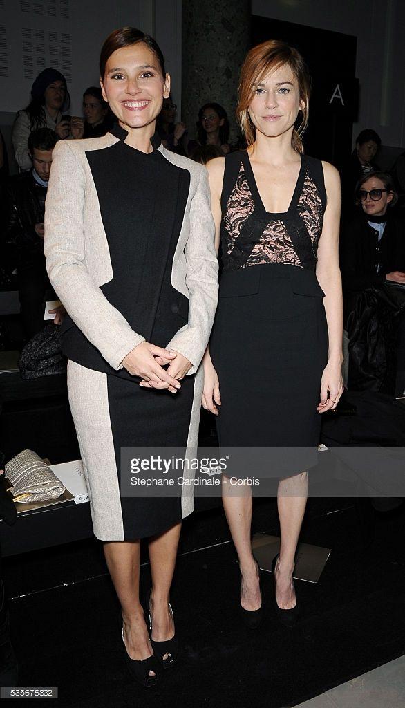 Photo d'actualité : Virginie Ledoyen and Marie-Josee Croze attend...