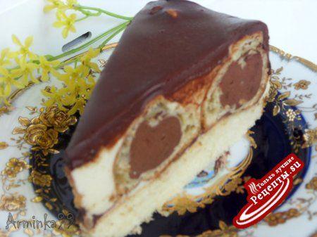 Торт эклер рецепт с фото