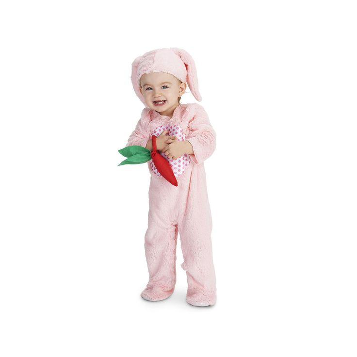 Baby Little Pink Bunny Costume, Infant Girl's, Size: 12-18MONTH