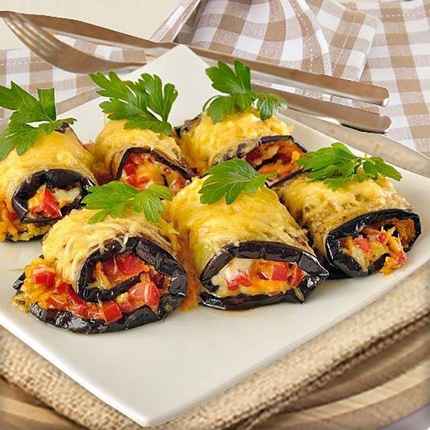 Aquí tienes varias ideas para preparar esta receta de Rollitos de Berenjena al horno con diferentes rellenos, para que quede siempre a gusto de todos.