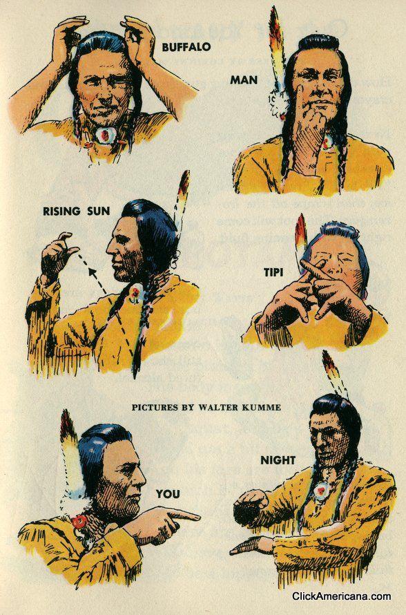 Native American Sign Language: