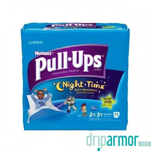 Kimberly Clark - 41260 - Toddler Training Pants Pull-Ups® Night-Time® Pull On 2T - 3T Disposable Heavy Absorbency