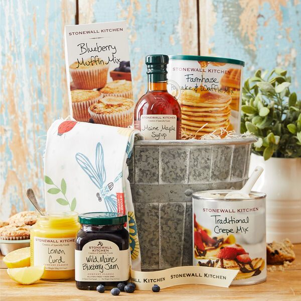 Deluxe Spring Gift In 2020 Crepe Mix Stonewall Kitchen Easter Brunch
