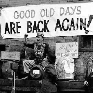 History Girl: Happy Days Are Here Again! The End of Prohibition