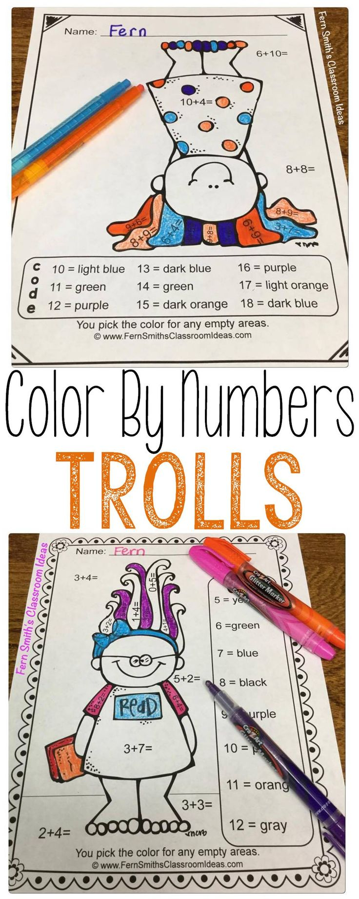 495 best subtraction activities for k 3rd grade images on