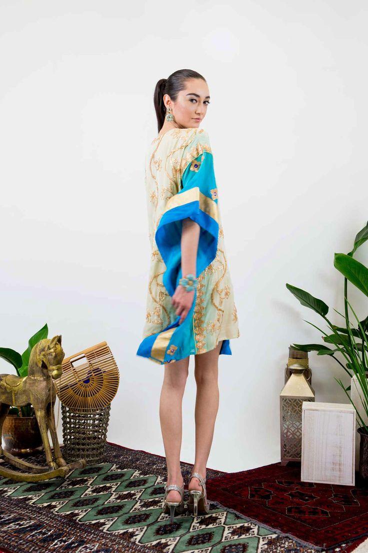 Couture Silk Kaftans | Best Kaftan Dresses - Shahida Parides