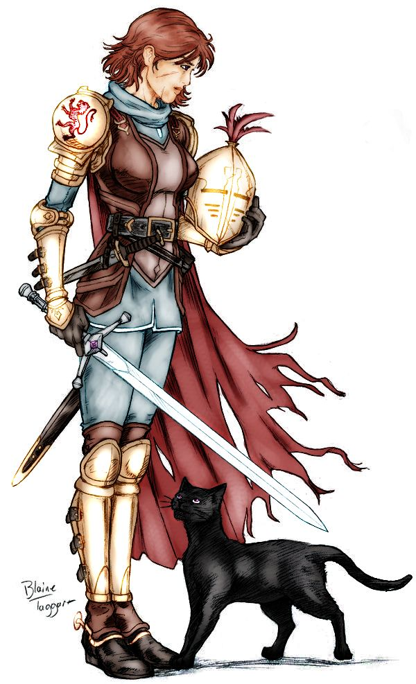 Alanna The Lioness and King's Champion from The Song of the Lioness Quartet by Tamora Pierce