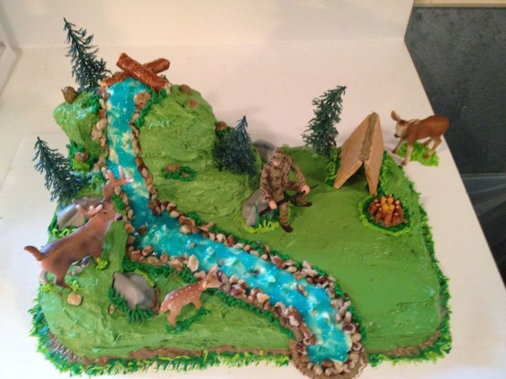 The 25 best Hunting birthday cakes ideas on Pinterest Deer