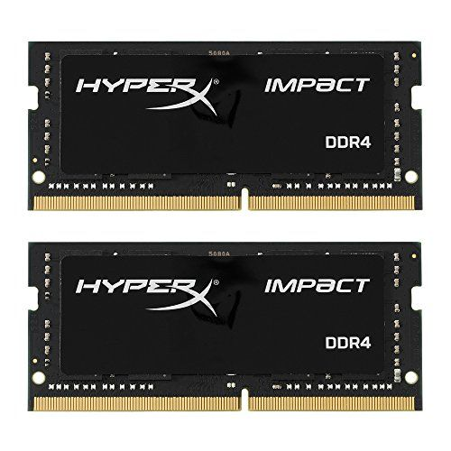 Kingston Technology HyperX Impact 32GB Kit (2x16GB) 2400M...