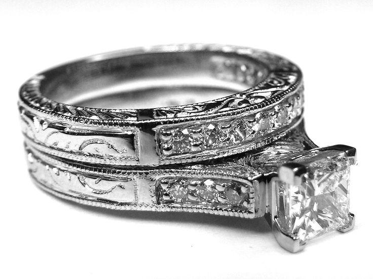 25 best ideas about princess cut diamonds on pinterest cushion ring diamond ring cuts and cushion cut diamond ring - Princess Wedding Ring