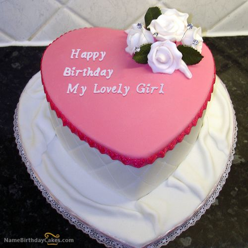 14 best Romantic Girlfriend Birthday Cakes images on Pinterest