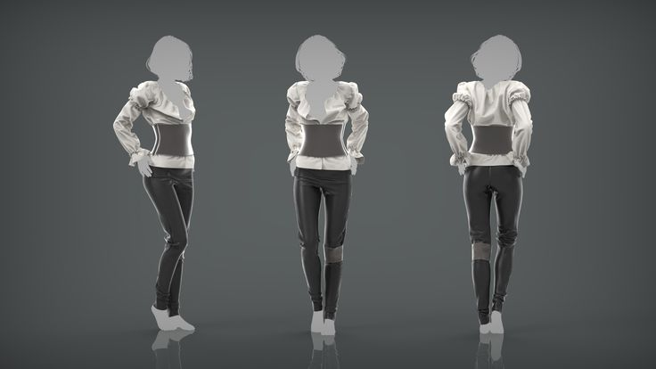 A small collection of clothing made whilst learning MD in my spare time.
