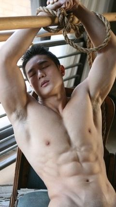 Buff asian gay