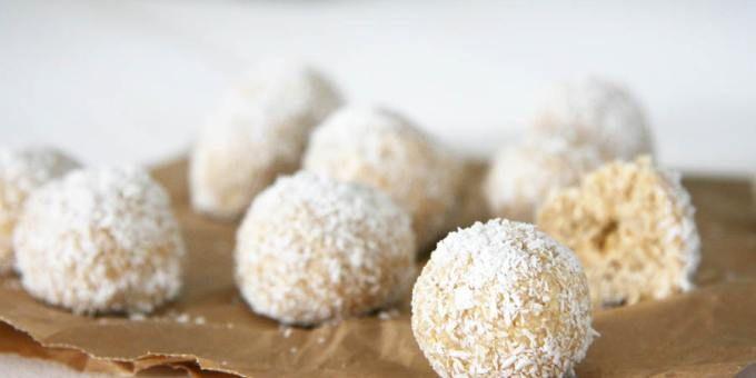 No Bake Coconut Ball Dog Treats - I Quit Sugar