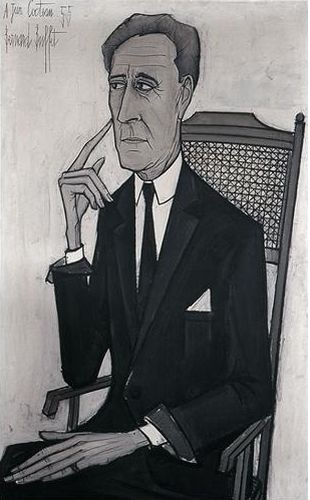 Jean Cocteau,1955