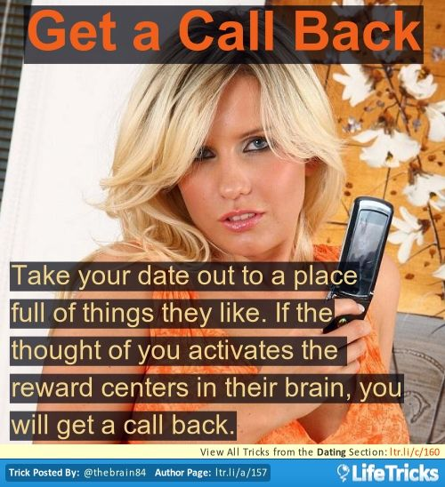 Dating tips tricks