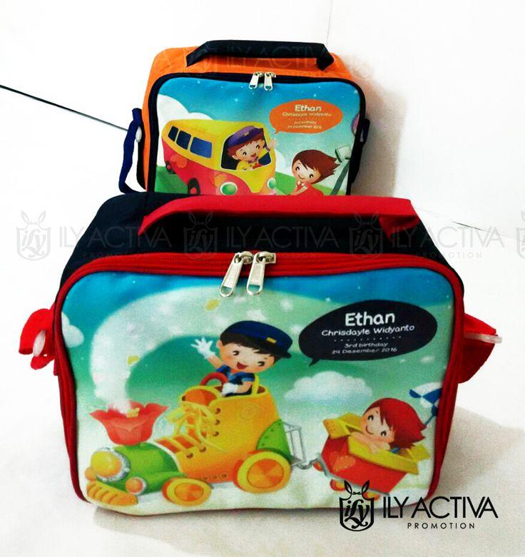 Tas Lunchbox -- Pesanan Bu Mira, Surabaya