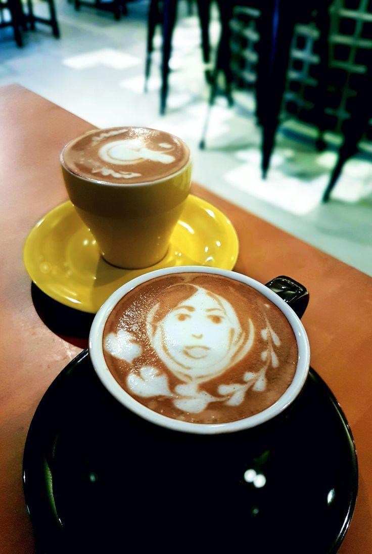 """Cappuccino & Flat White"", Heritage By Tan Goei, Jakarta"
