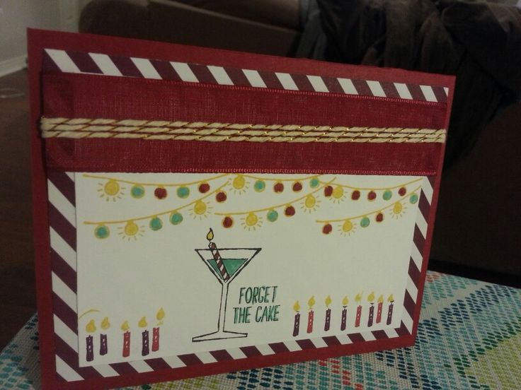 One tag fits all. Making spirits bright. Cherry cobbler. Blackberry bliss. Ribbon. Bakers twine. Stampin up.