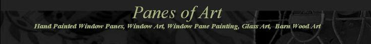 Panes of Art, Hand Painted Window Pane Art, Window Art, Decorative Window Panes, Old Barn Wood Art For Sale, Michele Mueller, window pains, folk art on old windows, decorative ideas with old windows, recyling old windows, upcycling old windows, reclaimed old windows, Pike Country Studios,