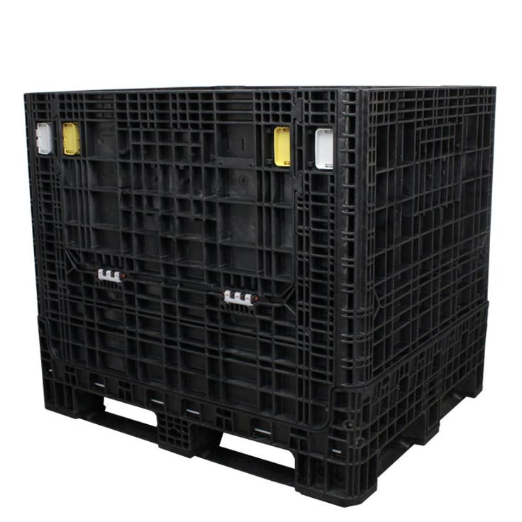 40 x 48 x 42 collapsible bulk container, with a 1,750 lb ...