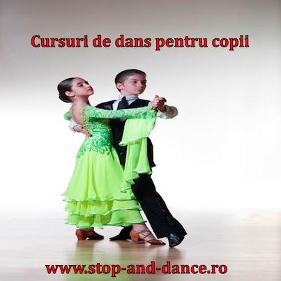 cursuri de dans pentru copii www.stop-and-dance.ro