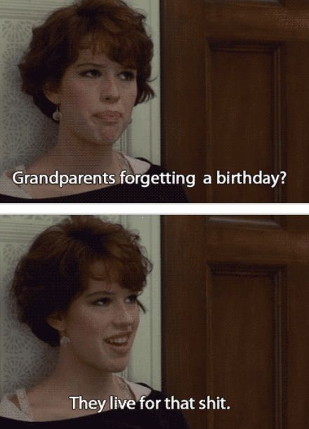 16 candles - Oh Molly..