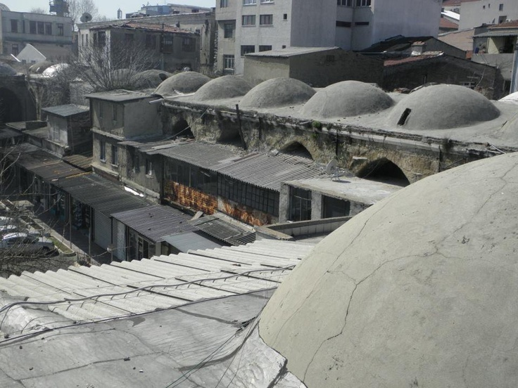 On the roofs of the Grand Bazaar in Istanbul like James Bond Skyfall...