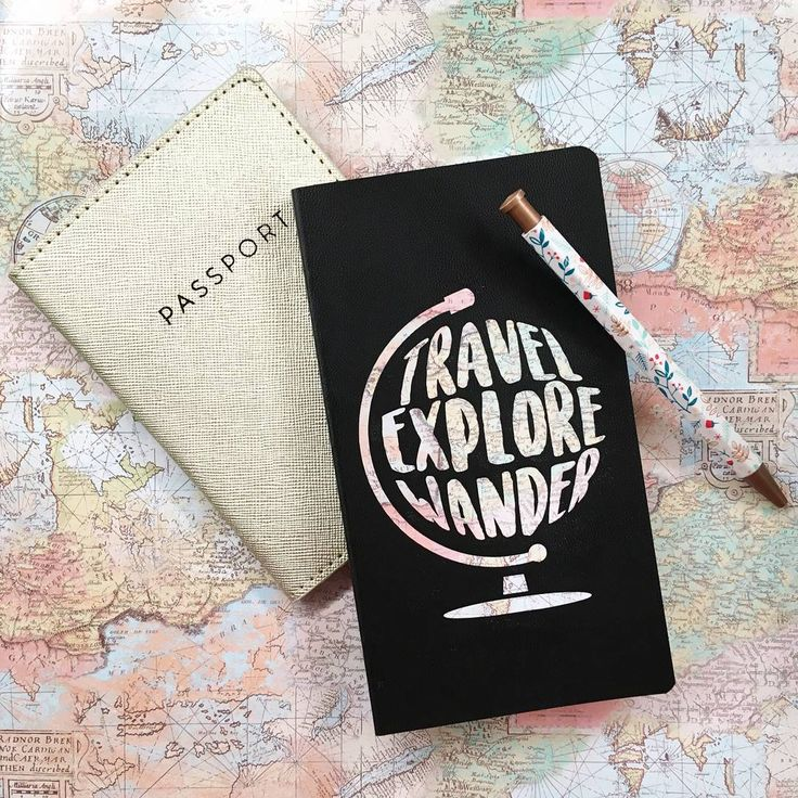 ADVENTURE TIME! 🌎🎒🛫 Jot down all of your adventures & travel plans in this little travel journal! Makes for a perfect stocking stuffer, too! 🎅To order, contact kitschydoodles@gmail.com or direct message me! #KitschyDoodles *Passport & pen not included* #travel #world #passport #adventure #adventuretravel #world #globe #map #notebook #write #writing #adobe #illustrator #graphicdesign #graphicdesigner #cards #designs #create #creations #art #kitschy #doodles #follow