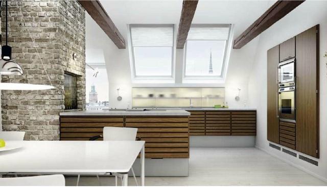 kitchen. danish unoform