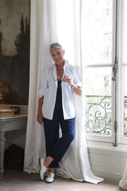 [写真] パリのおしゃれマダムのファッションと名言。シニア女性の人生観を捉えたスナップ集(FASHION HEADLINE) - エキサイトニュース