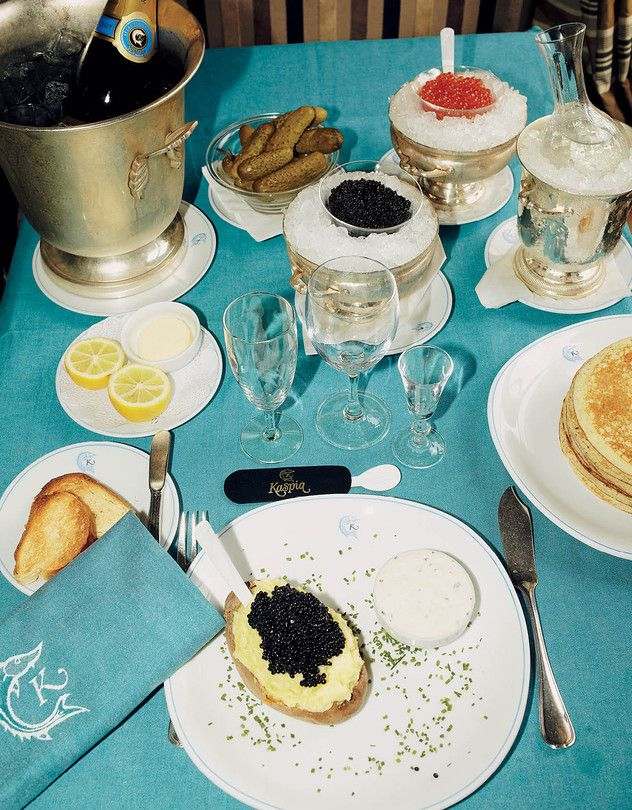 The Cult of Paris's Caviar Kaspia Restaurant - WSJ.com