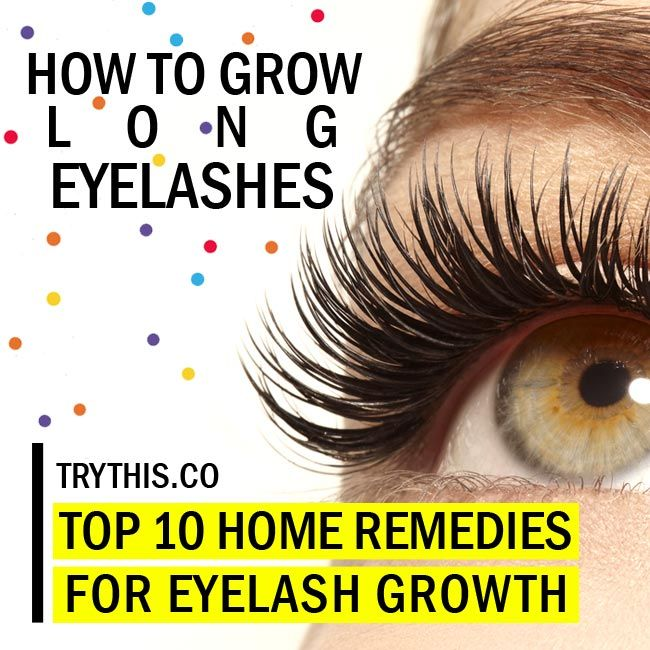 How To Grow Eyelashes Top 10 Home Remedies For Eyelash Growth
