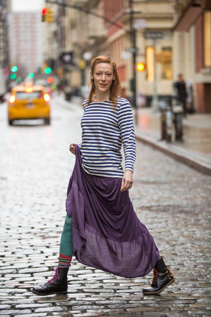 Gudrun Sjödén Mode aus weiten fließenden Naturstoffen. #naturmode #fürfrauen