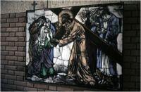 Een serie van 3 dia's betreffende religieuze kunst door Max Weiss, R.K. Jozef- en Mariakerk, Molijnstraat  Auteur: RHCe : Hagens, G.L. - 1964 - 1988