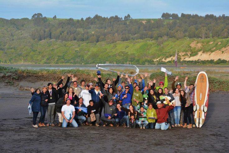 2da Regata Amigos del Windsurf - Los Cisnes, la Boca. #Amigos #Naturaleza #Celebracion