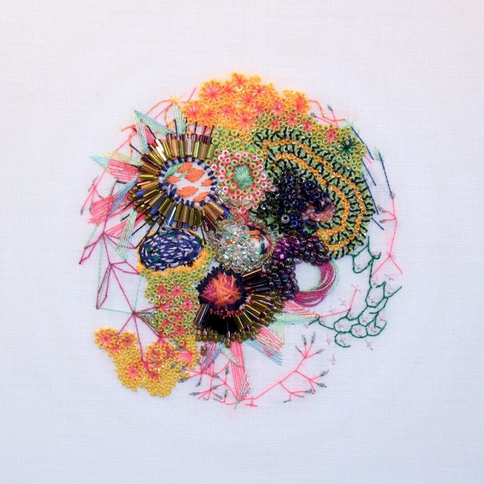 Karolin Reichardt's Embroideries Inspired by Science