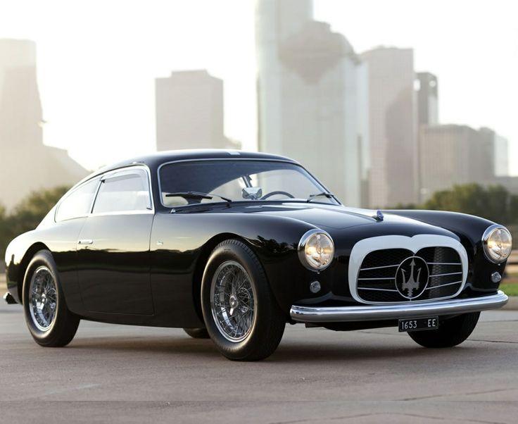 The 1955 Maserati 54 Berlinetta Zagato Is One Classy Ride.
