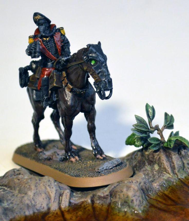 Commissar, Death Korps of Krieg, Death Rider