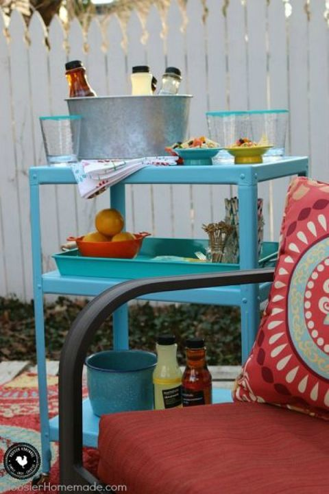 AMP UP YOUR OUTDOOR ENTERTAINING- Your backyard needs this piece for next barbecue. With these easy DIY projects and a few inexpensive supplies, your backyard will be better than ever before. Read all the tips from the pro's here.