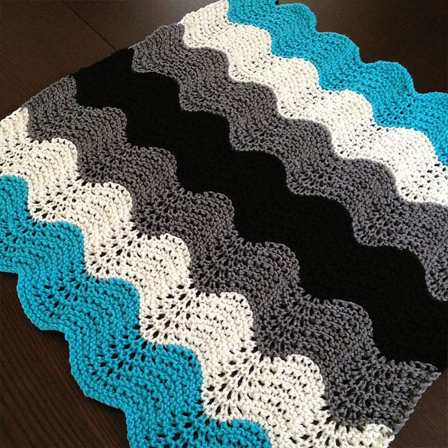 Ravelry Knitting Patterns For Baby Blankets : 172 best images about CROCHET - WAVES on Pinterest Free ...